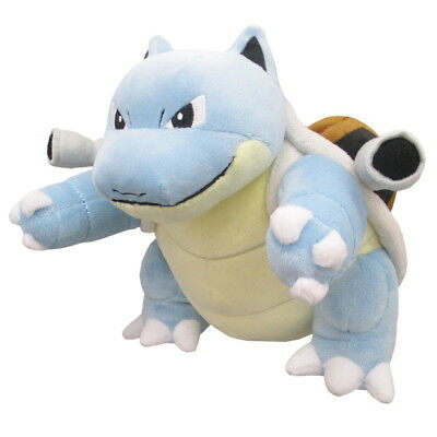 "Sanei Pokemon Sun Moon All Star Collection PP96 Blastoise 7"" Stuffed Plush Doll"