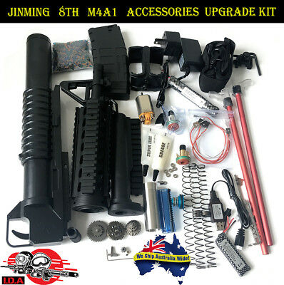 Toy Upgrade Gearbox Metal Parts JinMing 8th M4a1 Accessories Gel Ball Blaster OZ