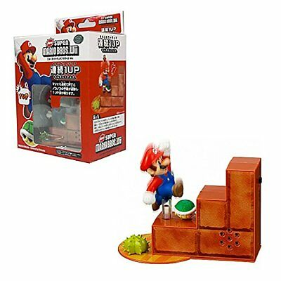 Maruka New Super Mario Bros.Wii 1 Up Action Sound Figure