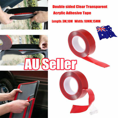3/10M High strength Double sided Transparent Acrylic Adhesive Tape Car Fix MN