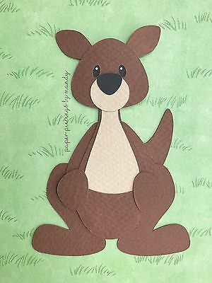 Fully assembled Kangaroo die cut / paper piecing