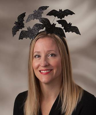 Let's Get Batty Headband Halloween Costume Bat Hat - Bethany Lowe LO7204