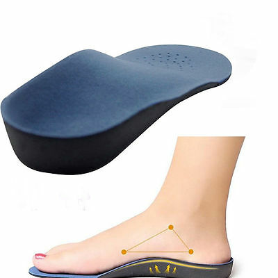 Orthopedic Insole For Flat Foot Health Sole Pad Shoes Arch Support Cushion HQ