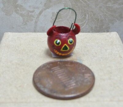 Cute 1:12 Scale Miniature Karen Markland Devil Candy Bucket