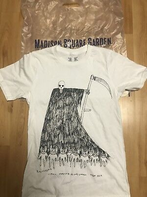 Radiohead Official 2018 Tour New York Msg Nyc Ny T-Shirt Small 7/11/18 Rare