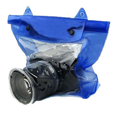 Waterproof DSLR SLR Camera Underwater Housing Case Pouch Dry Bag For Canon HOT