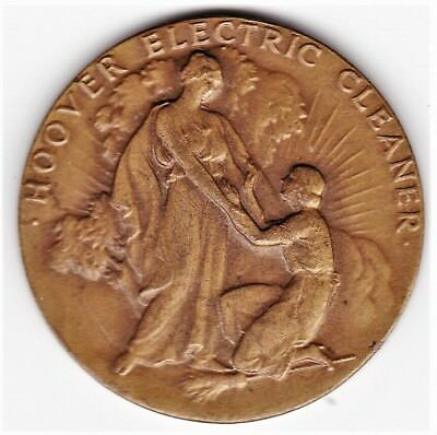 """1934 """"HOOVER ELECTRIC CLEANER"""" Centennial Exhibit """"CENTURY OF PROGRESS"""" Medal"""