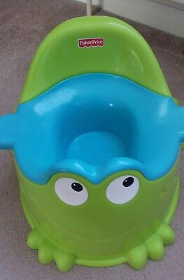 The Potty Frog Fisher Price Froggy Potty