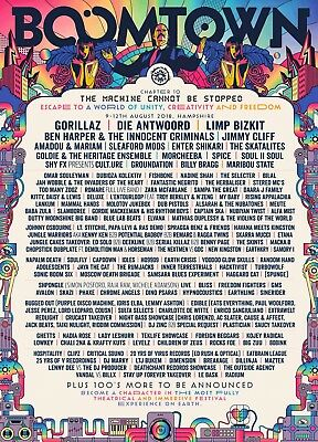 Boomtown Festival Chapter 10 Weekend Ticket