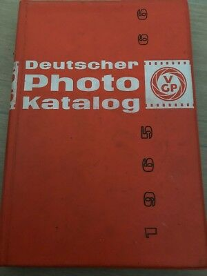 Deutscher Photo Katalog 65 66 Bilder Daten Zeiss Hasselblad etc 1965 Kamera VGP
