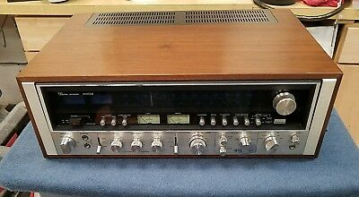 VINTAGE SANSUI 9090DB STEREO RECEIVER JAPAN WORKS NICE CLEAN Sounds Amazing