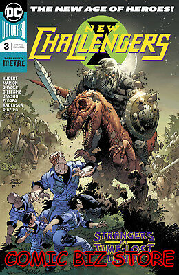 New Challengers #3 (Of 6) (2018) 1St Print Dc Universe Rebirth Bagged & Boarded