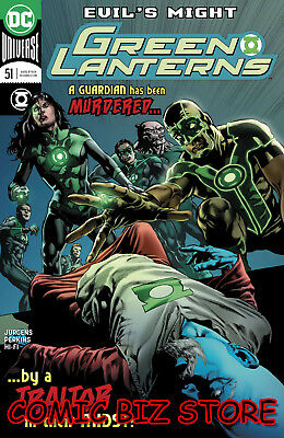 Green Lanterns #51 (2018) 1St Printing Main Cover Bagged & Boarded Dc Universe