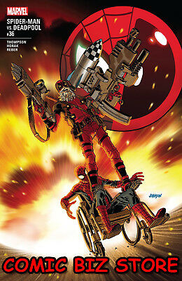 Spider-Man Deadpool #36 (2018) 1St Printing Bagged & Boarded Marvel Comics