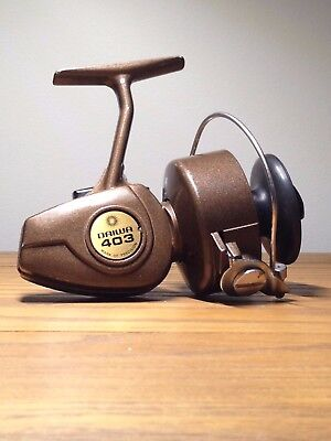 8519c8fdb0e Vintage, Daiwa 403 Fishing Reel, Copper, Made in Korea - Great condition