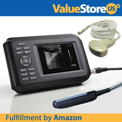 Portable Ultrasound Scanner V16 with Convex & Rectal Probe for Veterinary Use.