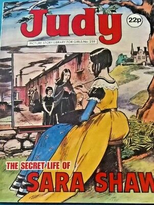 Judy Comic book - The Secret Life of Sara Shaw