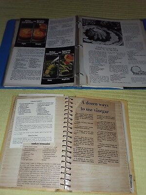 VTG 500+ Estate 60's & 70's Handwritten Recipes Cards Newspaper Clippings ☆RARE☆