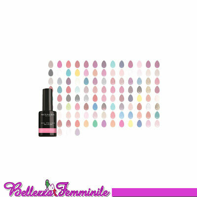 Mesauda Milano GEL POLISH NAIL COLOUR Smalto Gel Semipermanente Unghie 10 ml