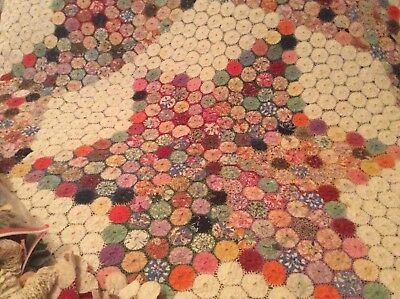 100 Year Old Yo-Yo Quilt