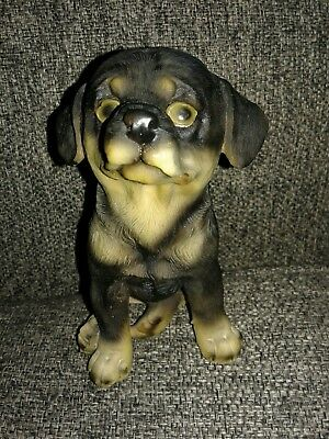 Figurine-Dog-Rottweiler-5x3x4 inches-Greenbrier-Used