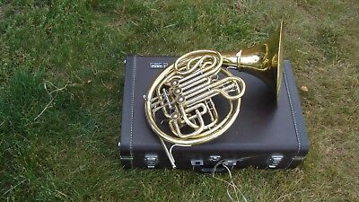 Yhr668D Yamaha Double French Horn Plays Great Screw Bell Good  Compression  Case