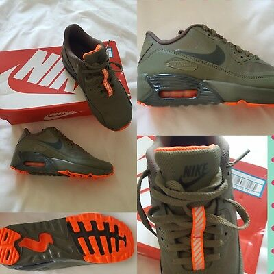 best service 955a5 9240d NEW IN BOX Men Boys Ladies Girl Nike Air Max 90 Ultra 2.0 Olive