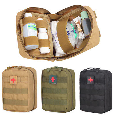 Tactical First Aid Kit Bag Medical Molle EMT Emergency Survival Pouch Outdoor