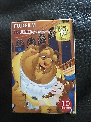 Fujifilm Instax Mini Instant Film(Pack of 10)Beauty and the beast.