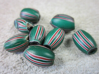 Antike Glasperlen, Melon beads, Murano, Handelsperlen, Trade beads,