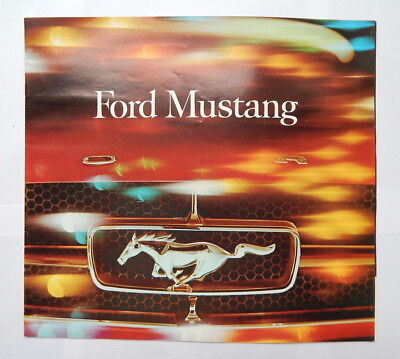 Ford Mustang Sales Brochure (1964) FDC-6409 2-64