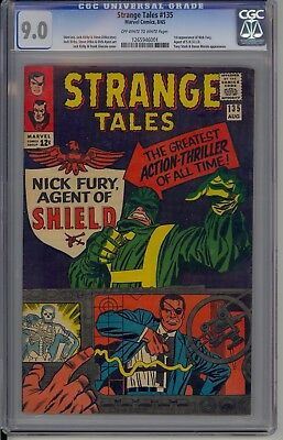Strange Tales #135 (Aug 1965, Marvel) CGC 9.0 SILVER AGE BEAUTY