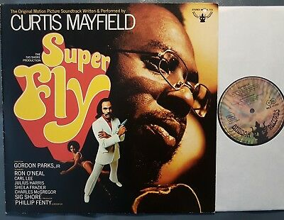 Funk LP CURTIS MAYFIELD Super Fly BUDDAH (Germany, 1972) late 1970s pressing