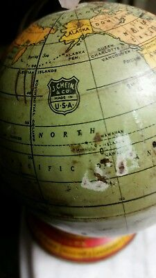 J-Chein  Small World Globe-Old Probably 1930's