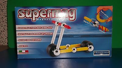 Supermag  Magnetic Genius Scooter  26 Teile