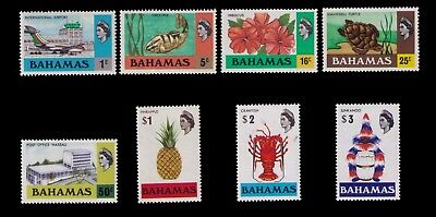 Bahamas Stamps Qeii Sc# 426-33 Cpl Mnh Set To $3,cv:$40.00