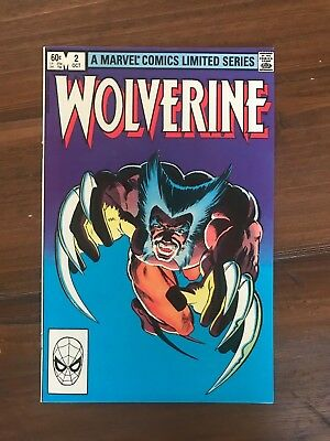 Wolverine #2 (Oct 1982, Marvel) NM - Gorgeous