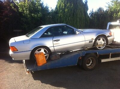 Barn find, Mercedes SL 280 Convertible, 1994 (L) been lay up for years.