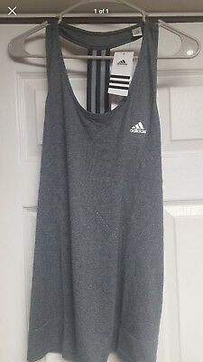 Womens Adidas Climalite Derby Tank Top  Large