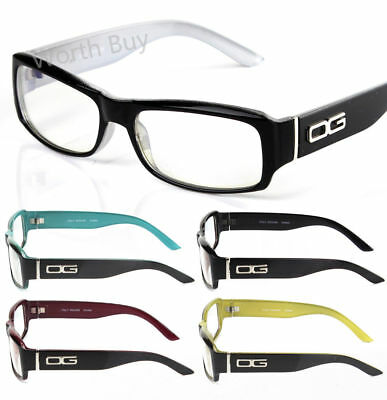 11ec62cc50f9 Mens Women DG Rectangular Frame Full Rim Clear Lens Eye Glasses Fashion  Designer