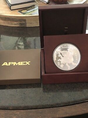 APMEX 10 Troy Ounces .999 Fine Silver Year of The Monkey Coin