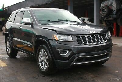 Jeep Grand Cherokee Limited 4x4 4dr SUV 2014 Limited 4x4 4dr SUV Used 3.6L V6 24V Automatic 4WD SUV