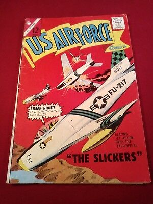 U.S. Air Force #32 1964 The Slickers; Part Time Hero 4.0 TIGHT GLOSSY O/WHITE PG