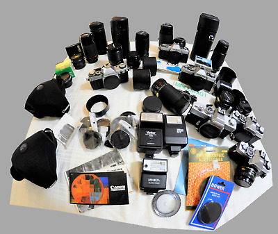Slr Cameras Lenses Accessories