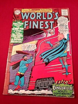 World's Finest #151 Dc Comics Vg+ Condition Tight Bone White Pages Glossy