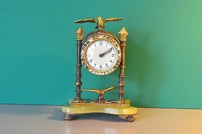 Rare Antique French mantle clock. Working order.