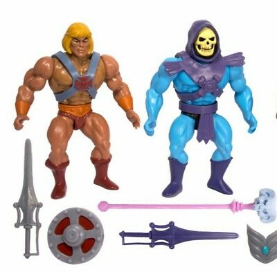 He Man und Skeletor Filmation Vintage Pre Sale Super 7