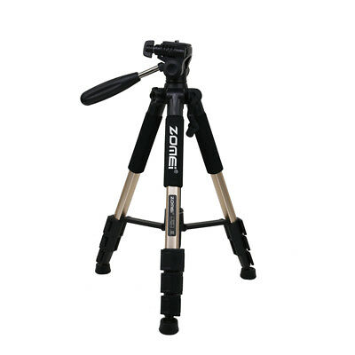 Zomei Q111 Light Weight HeavyDutyCompact Portable Aluminium Travel Tripod Golden