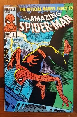 Official Index to The Amazing Spiderman #1  Marvel comic 1984