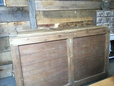 Beautiful Antique Blanket Box Or Coffee Table